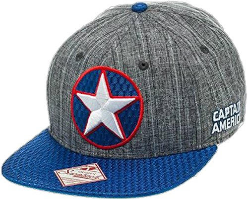 Captain America Winter Soldier Logo Snapback Hat