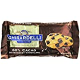 Ghirardelli Chocolate Baking Chips, Bittersweet Chocolate, 10 oz., 6 Count