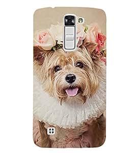 EPICCASE bride dog Mobile Back Case Cover For LG K7 (Designer Case)