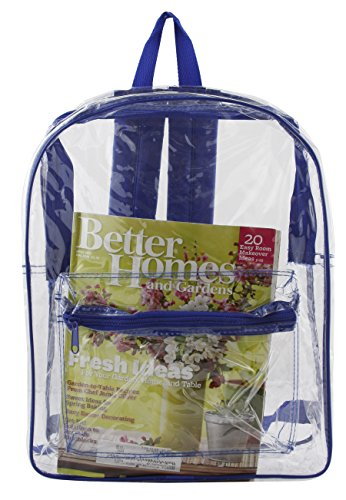 All Clear PVC Backpack by Ensign Peak (Royal Blue) - 1