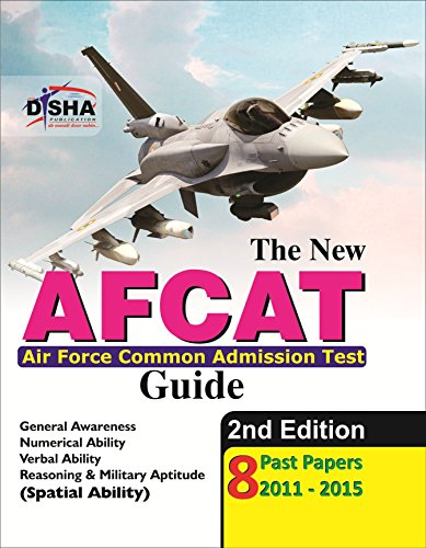 The new AFCAT Guide with 8 Past Papers (2011 - 2015) (Old Edition)