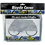 Bicycle Protective Cover, Waterproof Rain & Dust Guard Fits Most Standard Bikes.