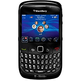 BlackBerry Curve 8520 Phone, Black (T-Mobile)