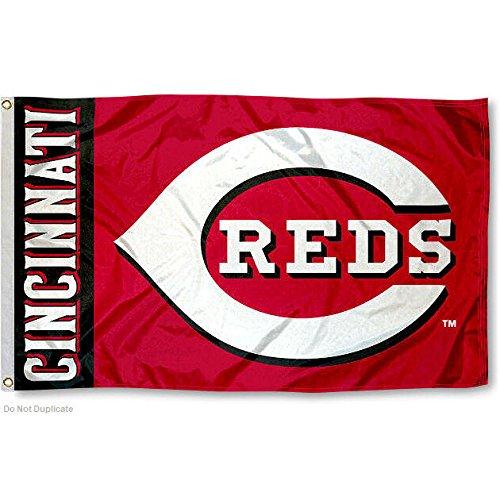 Cincinnati Reds Flag 3x5 MLB Banner