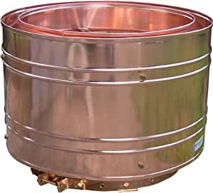 Copper Chimney Cap Draftmaster 6 For Round Single Wall