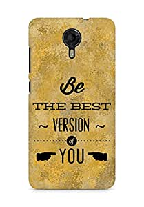 Amez Be the Best version of Yourself Back Cover For Micromax Canvas Xpress 2 E313