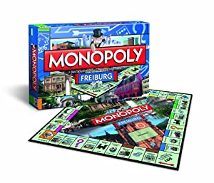 Winning Moves 40552 - Monopoly Freiburg