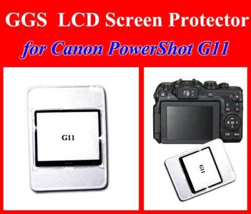 GGS LCD Optical Glass Screen Protector for Canon Powershot G11 / G12