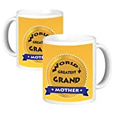 ToduGift World Greatest Grand Mother Ceramic Mug