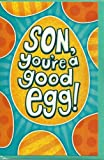Son you're a good egg! Happy Easter card