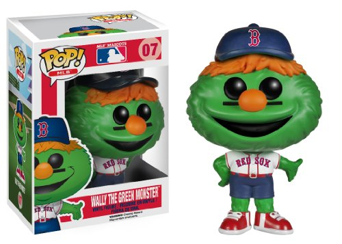 Funko Pop! Major League Baseball: Wally The Green Monster Vinyl Figure - 1
