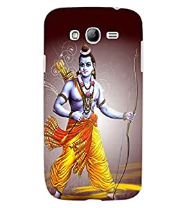ColourCraft Lord Rama Design Back Case Cover for SAMSUNG GALAXY GRAND Z I9082Z
