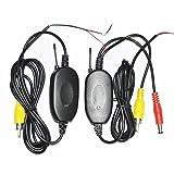 Transmisor y receptor inalámbrico de video BW® CN-2401 2.4G Color para camara de vehículo de vista trasera