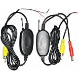 BW® 2.4G Wireless Color Video Transmitter and Receiver for The Vehicle Backup Camera/Front Car Camera