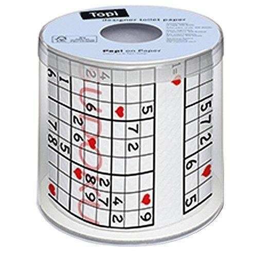 Sudoku Toilet Roll/Paper - 1
