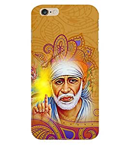 Om Sri Sai Akhileshwaraaya 3D Hard Polycarbonate Designer Back Case Cover for Apple iPhone 6S Plus
