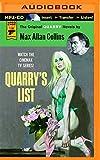 Quarry's List: A Quarry Novel