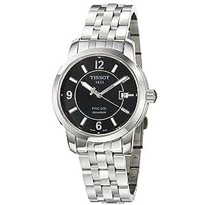 Tissot Men's T0144101105700 PRC 200 Black Dial Watch