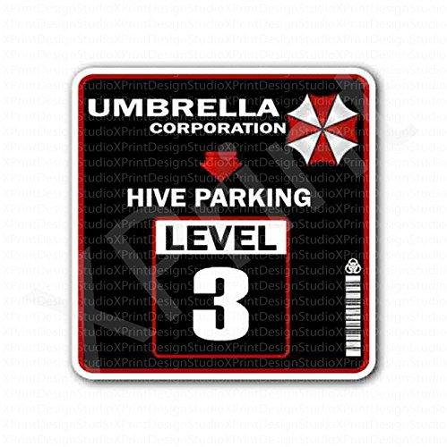 Umbrella Corporation Hive Parking Level 3 Sticker Import It All