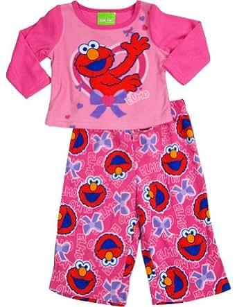 Amazon Sesame Street Baby Girls Long Sleeve Elmo