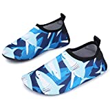 L-RUN Kids Swim Water Shoes Barefoot Aqua Socks Shoes Beach Pool Surfing Yoga