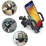 Motorrad Roller oder Fahrrad Handy Halterung für alle Modelle, bestens geeignet für iPhone 3G, 3GS und iPhone 4, Samsung Galaxy, Nokia N8-00, HTC Desire HD, Sony Ericsson Xperia X10, RIM Blackberry Torch 9800, Marke Incutex