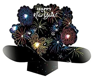 Creative Converting Dimensional Pop-Out Style Happy New Year Fireworks Centerpiece at Sears.com