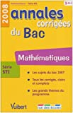 Mathmatiques srie STI : Annales corriges du Bac