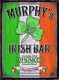 MURPHYS IRISH BAR vintage mini metal sign 8