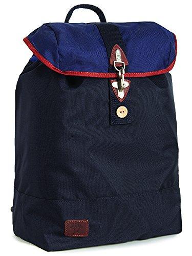 FAGUO - - Uomo - Sac a Dos Crochet Nylon Bleu Marine Camel pour homme -