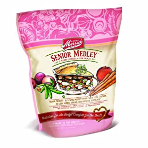 Merrick Senior Medley Dog Food 5lb Bag