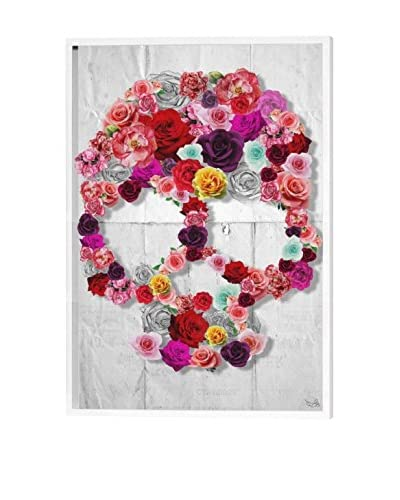 Oliver Gal Bed Of Roses Dimensional Art, Multi, 24 x 16