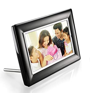 Philips 7-Inch LCD Digital Photo Frame (Black)
