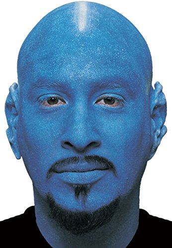 Woochie by Cinema Secrets Bald Cap - Blue, Multi, One Size - 1
