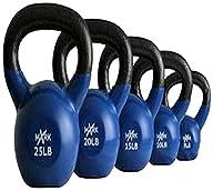 XMark Fitness Vinyl Coated Kettlebell…