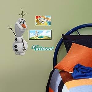Amazon.com : Disney congelado Olaf compañero decoración de la pared