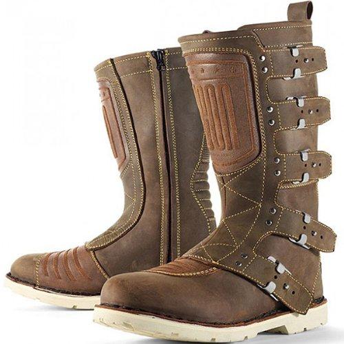 Icon アイコン One Thousand Elsinore Boots オンロードブーツ ブラウン 10(27cm)