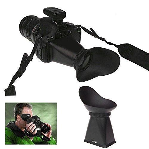 MP power @ V2 viewfinder Ingranditore Mirino LCD Extender per Canon 550D 5D mark III 5DIII Nikon D90