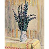 The Museum Outlet - A Jug Of Flowers On The Table - Canvas (Medium)