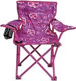 Silla plegable infantil, para uso al aire libre, con posavasos y bolsa de transporte con dise�o a juego