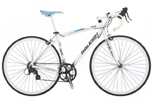 buy raleigh race men s road bike white 47 cm bikes scooters. Black Bedroom Furniture Sets. Home Design Ideas