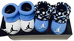 Nike Jordan Infant Boy\'s 2-Pair Booties, 0-6 Months