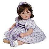 "Adora Baby Doll 20"" Violet and Velvet (Dark Brown Hair/Brown Eyes)"
