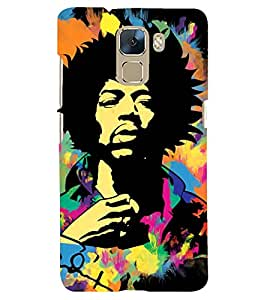 PRINTSHOPPII PERSONALITIES MUSIC Back Case Cover for Huawei Honor 7