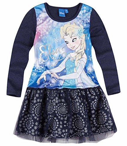 Disney Frozen - Il regno di ghiaccio Ragazze Vestito - blu - 116