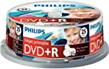 Philips 25 pack DVD+R 4.7GB 120 min 16x