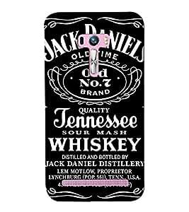 Go Yankee jack daniel logo Back Cover For Asus Zenfone Selfie