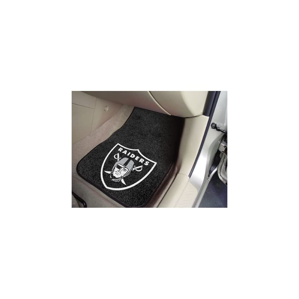BSS   Oakland Raiders NFL Car Floor Mats (2 Front)