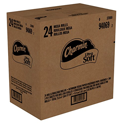 Charmin Ultra Strong Toilet Paper, Mega