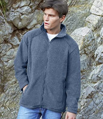 Fruit of the Loom Outdoor Fleece Jacket Royal L